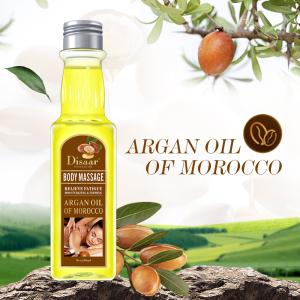 Disaar Aromatherapy Relaxing Natural Nourishing Organic Argan Essential Body Massage Oil