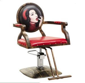 High-grade retro hair salon barber chair hairdressing equipment