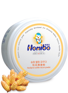Honibo Baby Total Effect Prickly Heat Powder pure corn powder