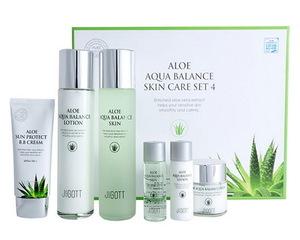 Jigott Aloe Aqua Balance Skin Care 4pc Set