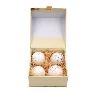 MELAO Organic Sea Salt Bath Bombs Bubble Bath Salts Essential Oil Handmade SPA Stress Relief Skin Moisturizer Bath Ball Gift Box