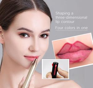 OEM 2019 New Makeup Waterproof Lip Liner Private Label Pencil