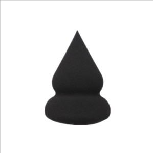 Pointy Gourd Shape Non-latex Pink Cosmetic Sponge Puffs Wet-dry Dual Use Foundation Powder Puff Smooth Cosmetic Makeup Sponge