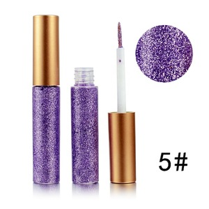 Private Label Cosmetics Eyeliner Glitter Liquid Eyeshadow makeup