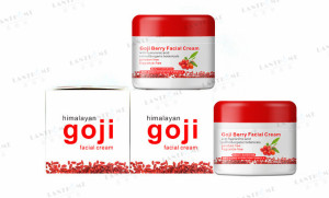 private label moisturizing anti-wrinkle firming paraben free natural goji berry woman essential facial cream
