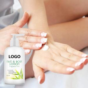 Private Label Organic Aloe Vera Shea Butter Moisturizing Body Lotion