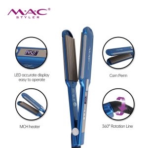 Professional Salon 480 F Flat Irons Wholesale Private Label 2 in 1 Hair Flat Iron With Ceramic Floating Plates Create taco hair