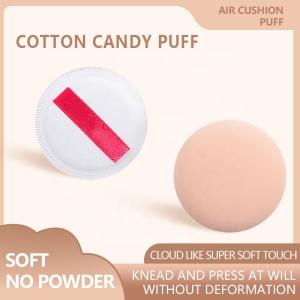 Reusable Ultra Soft Foundation Makeup Velour Puffs Air Cushion Cosmetic Face Makeup Sponge