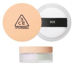 3CE Blur Filter Powder Highlighter Face Loose Setting waterproof Makeup Foundation Powder