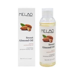 4oz 118ml cosmetic grade melao organic sweet almond oil for sale wholesale
