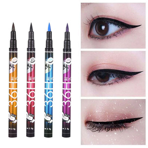 AMEIZII 4 Colors Black Brown Eyeliner Pen Waterproof Cosmetics Makeup Eye Liner Pencil