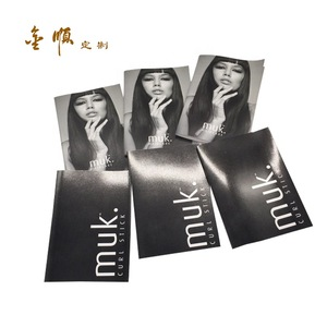 Custom Human Other Artificial Synthetic Training Head Wig Display Hair Paper Print Instruction Manual for Hair Care