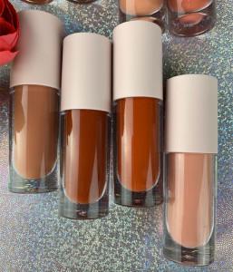 Custom liquid nude lipstick long lasting 8 matte color liquid lipstick private label