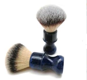 JDK High quality Shaving brush pure badger resin  shaving beard brush for men OEM factory
