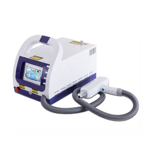 Portable Q Switch Laser Tattoo Removal Eyebrow Tattoos Remove Device