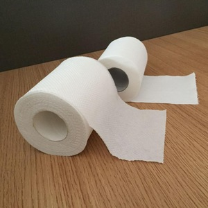 Supply 3 Ply Toilet Tissue Paper Roll 24 Roll Packaging For kids