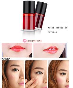 Wholesale korean lip tint oem and cheek  liquid color blush makeup