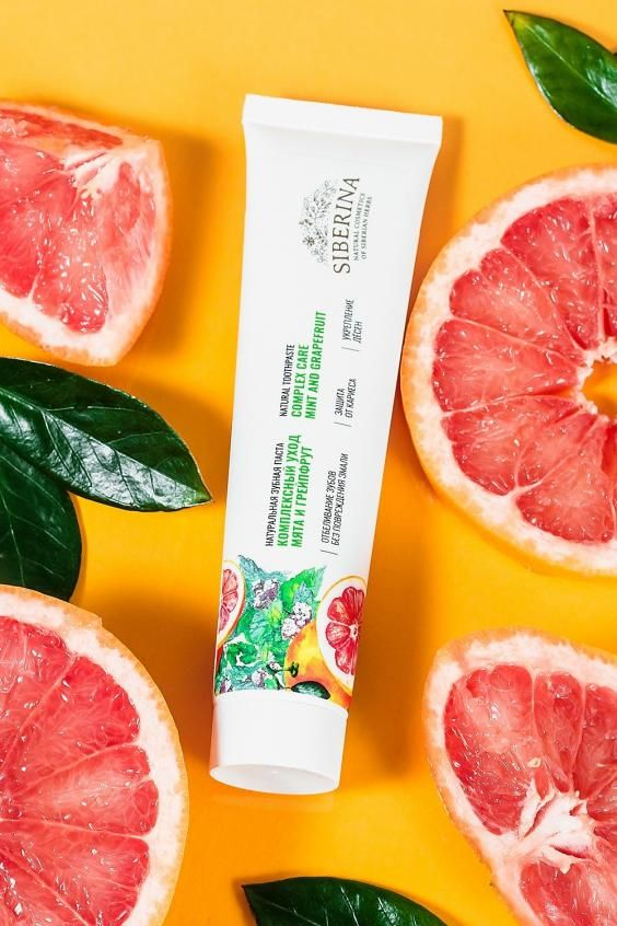 TOOTHPASTE COMPLEX CARE MINT AND GRAPEFRUIT