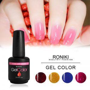 RONIKI Cherry Series Color Gel,Gel Polish,Uv Gel Polish