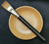 Cosmetic tool Synthetic hair mask brush with bamboo bowl