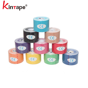 5cmx5m OEM Custom Pre-cut & Regular Kinesiologie Tape / Kinesiology Tape FDA Approved For Sports Safety And Physiotherapy