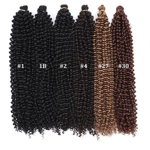 "Best Selling Products Freetress Synthetic Hair Crochet Braids Water Wave 22"" Hair Extensions"
