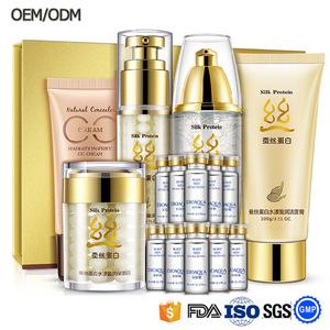 Bulk bioaqua professional name brand silk protein skin care products skin care set for beauty