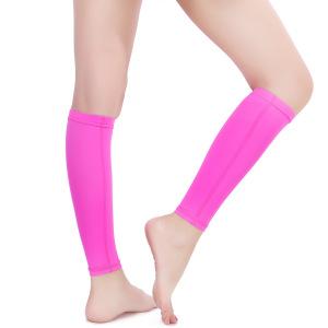 Custom Elastic Warmer Sleeve Calf compression leg support sleeve for sport safety