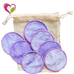 Eco-friendly Washable Round Shape Reusable Makeup Remover Cotton Pads