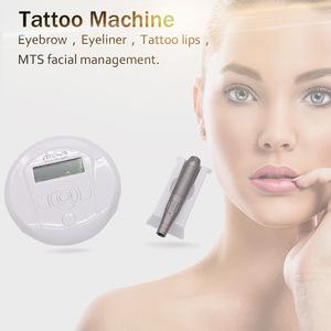用于永久性化妆颜料的电子微针中间疗法Artmex V6纹身枪