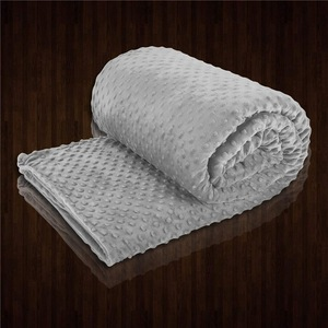 High Quality Glass Beads Filling Weighted Blankets reduce anxiety