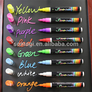 New chalk markers reversible tip/ body tattoo marker pens