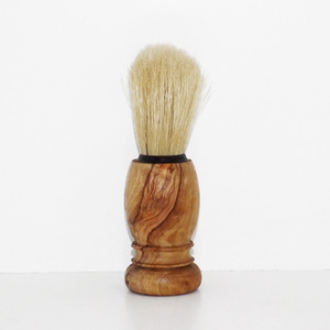 olive wood Shaving Brush
