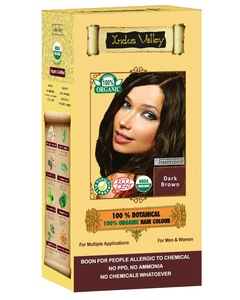 PPD free Non allergic 100% Natural Hair dye Colour - Halal products