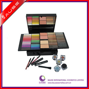 Professional 85 color makeup set, OEM makeup case with your own brand