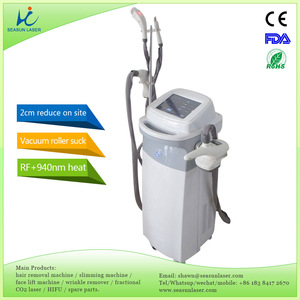 very obvious effects on site venashape 1MHz Sin 700W roller RF fat burst weight loss slimming vacuum cavitation system