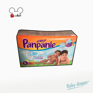 Wholesale bamboo fabric disposable sleepy cute pants bales baby diapers/nappies fastener