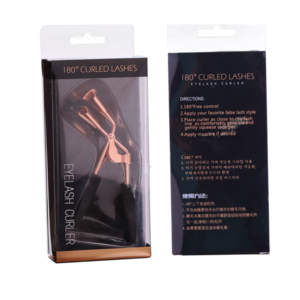 Wholesale custom private label beauty tools rose gold eyelash curler