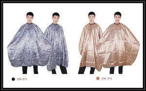Wholesale fashion soft salon aprons and barber capes