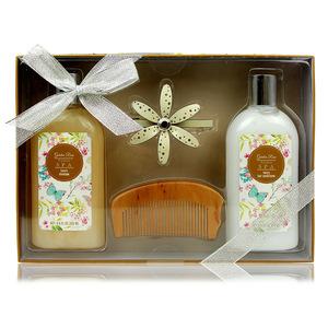 Wholesale OEM princess aromatic spa bath set gift for woman , natural romantic elegance bath gift set