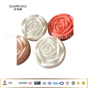 100% handmade 25g Scented Colorful Rose Flower Shaped Bath Fizzies