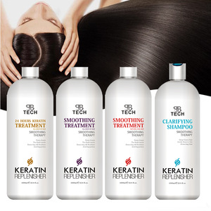 1000ml Straighten naturally brazilian straighten cream wholesale nano keratin hair treatment