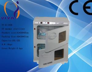 B-1008 electric portable hot towel warmer/uv towel warmer sterilizer