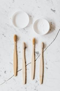 Eco- friendly toothbrushes bamboo 100% biodegradable with Customized Packing and Logo
