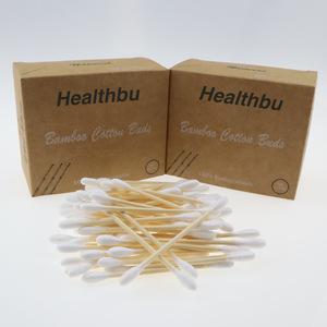 Environmental OEM design healthbu recyclable organic cotton buds