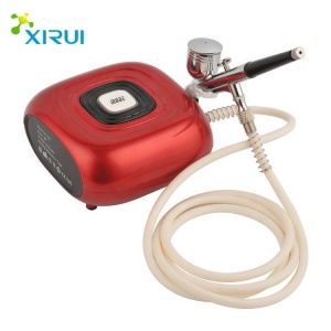 HS08-6AC-SK Popular Cake Decor Compressor Hot Sale Factory  for Airbrush Painting Makeup Nail and Tattoo Studios Hobby