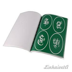 LinhaivetA Book 12 henna tattoo airbrush stencils temporary air brush gun set