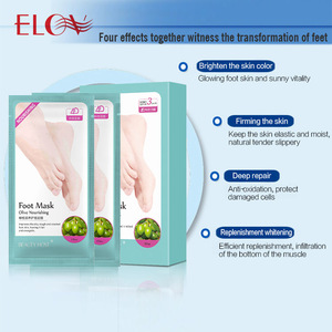 Moisturizing Foot Mask For Foot Care Anti Chapping Nourishing Tender Foot OEM / ODM