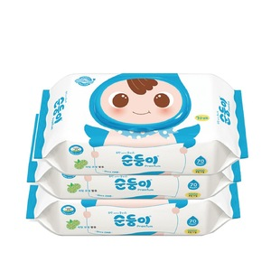 No Chemical Disposable Wet Organic Bamboo Baby Wipes