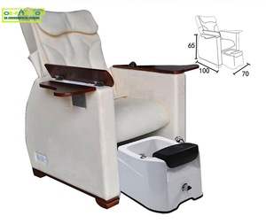 OE-FASHION Body Care electrical beauty nail supplies wood pedicure chair for beauty salon equipment